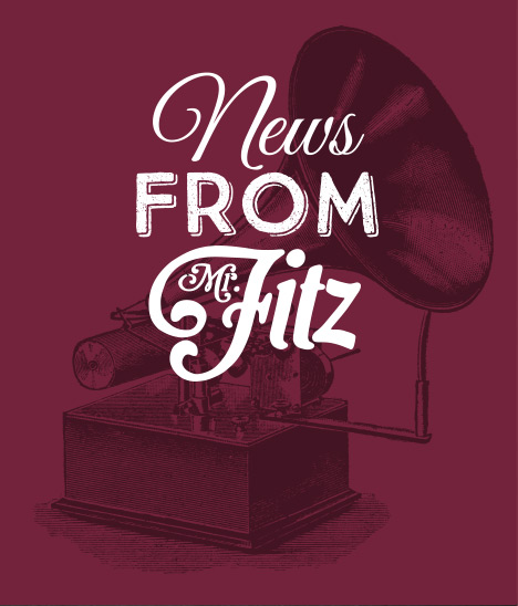 News from Mr Fitz