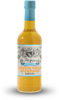 NEW! Clementine, Orange & Bergamot NO ADDED SUGAR CORDIAL