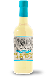 New! English Elderflower & Bramley Apple No Added Sugar Cordial