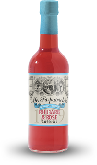 NEW! Rhubarb & Rose NO ADDED SUGAR CORDIAL