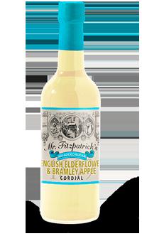 English Elderflower & Bramley Apple No Added Sugar Cordial